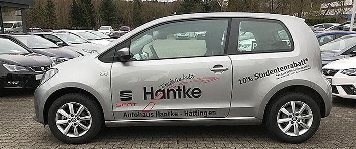 10% Studentenrabatt bei Autohaus Hantke in Hattingen und Bochum