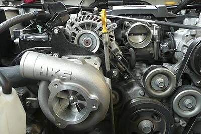 HKS Kompressor für den Toyota GT 86